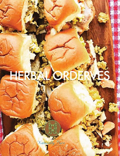 Herbal Orderves