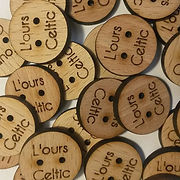 L'ours Celtic - Boutons