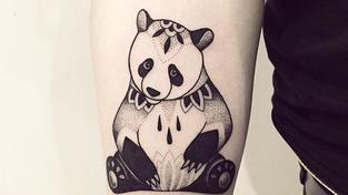 Des jolis tatouages d'ours