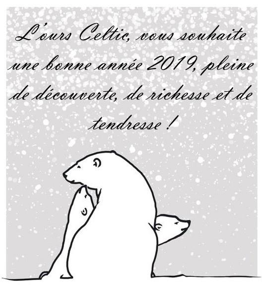 L'ours Celtic - Bonne année 2019