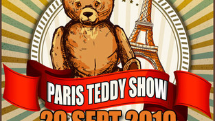"L'ours Celtic au ""Paris Teddy Show"""
