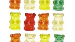 Friandises en forme d'ours ... Miam !