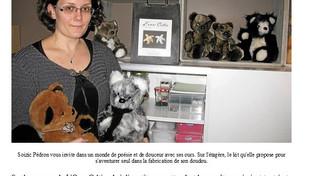 L'ours Celtic sur Le Télégramme et l'Ouest France
