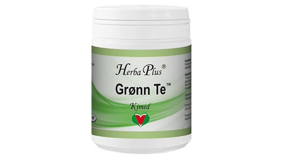 Grønn Te  - Urtepreparat med antioksidanter.