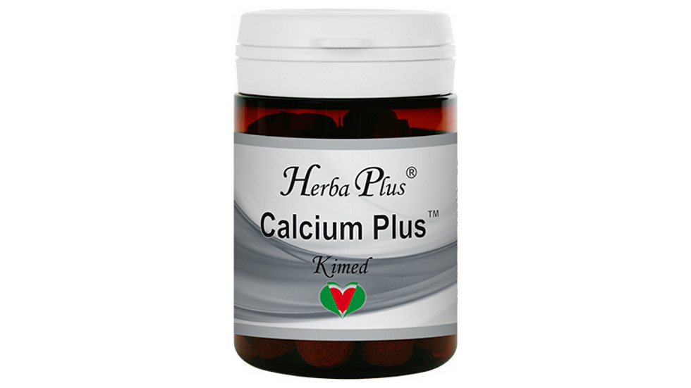 Calcium Plus - Urte- og mineralpreparat med kalsium, magnesium og vitamin C, D o