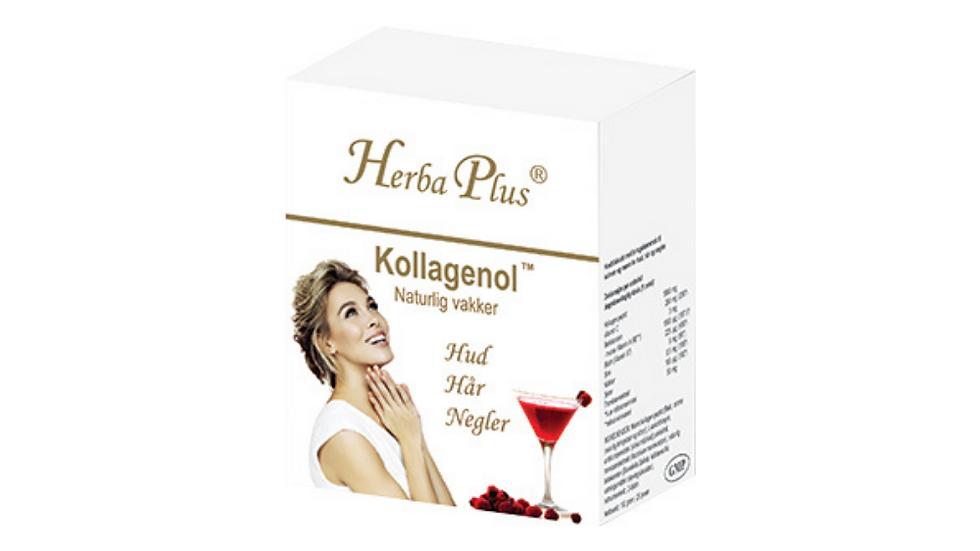 Kollagenol - Kosttilskudd for hud, hår og negler.