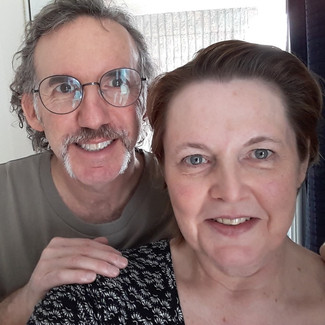 Caroline and Dave Wade