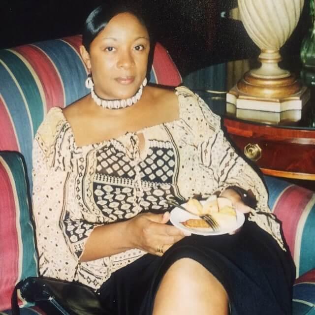Brenda before her plant-based diet