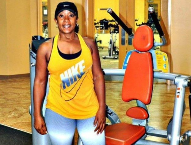 Brenda Bradley at the gym
