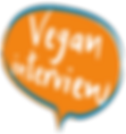 Vegan interview logo