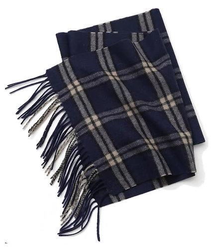 Skotska Kashmirhalsduk-Blå