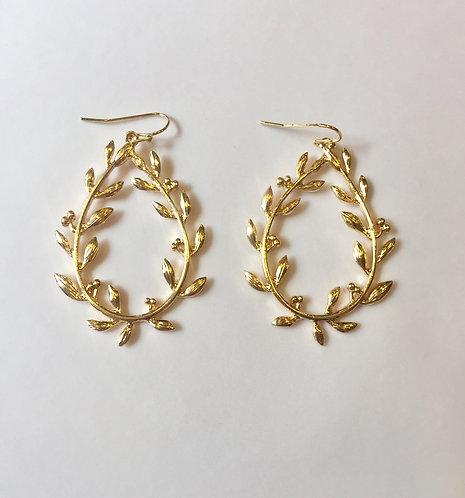 Olivia Oval Earrings