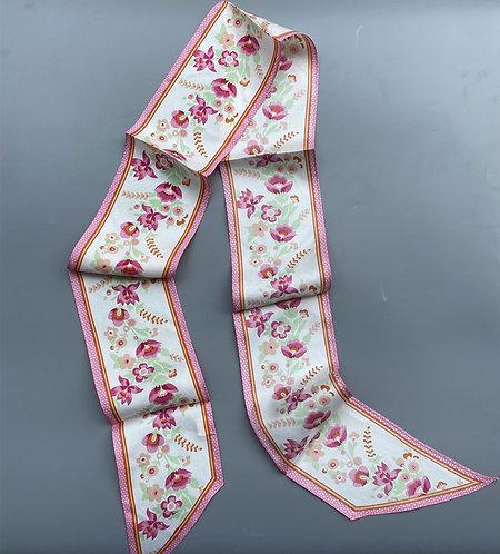 Silk ribbon- pink