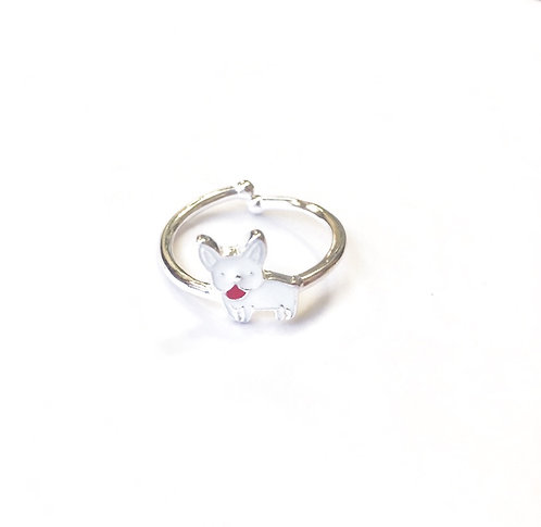 Catty Silver Ring