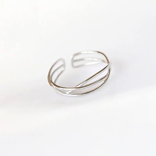 Emily Silver Ring