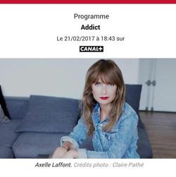 "Axelle Laffont ""Addict"""