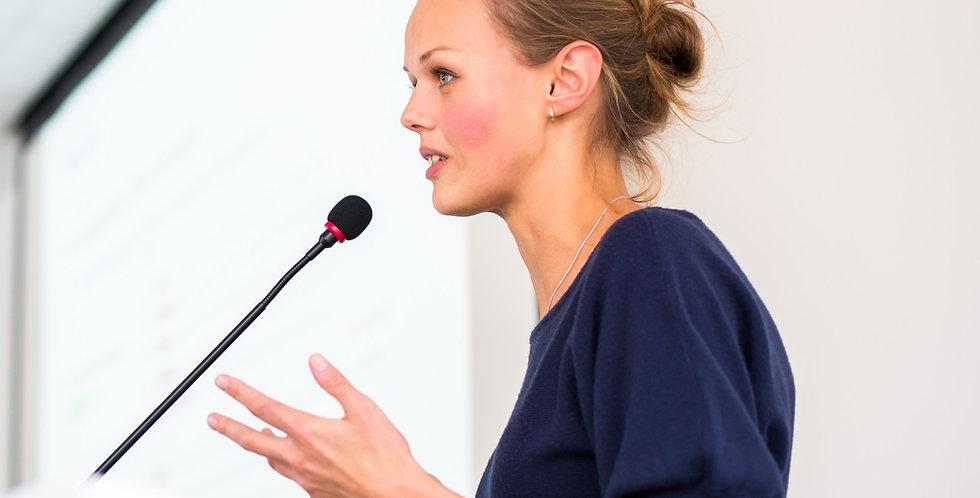 Körpersprache und Stimme