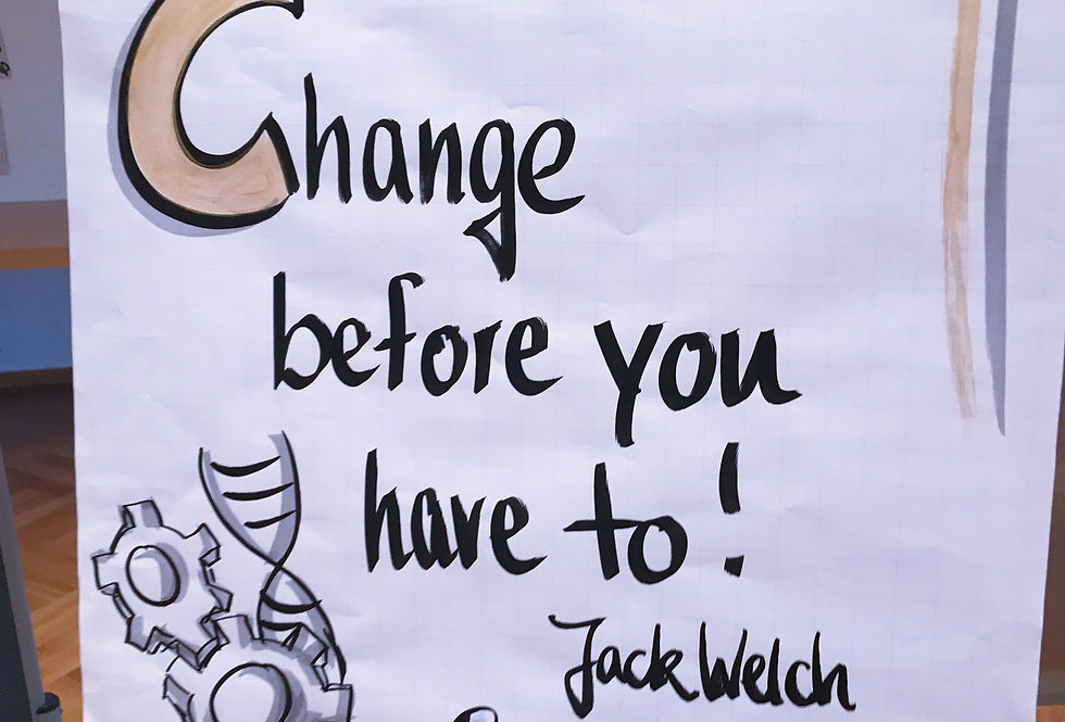 Interaktives Webinar Change-Management