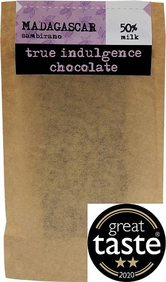 Madagascar Sambirano 50% Dark Milk Bean to Bar) Craft Chocolate Bar