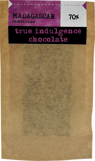 Madagascar Sambirano 70% (Bean to Bar) Craft Chocolate Bar