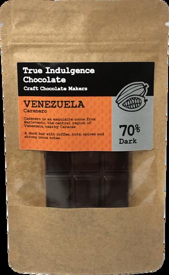 Venezuela Carenero 70% (Bean to Bar) Craft Chocolate Bar