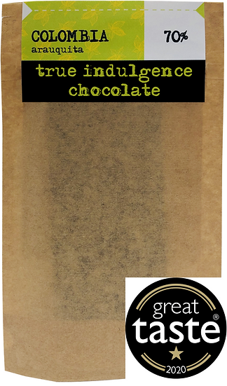 Colombia Arauquita 70% (Bean to Bar) Craft Chocolate Bar