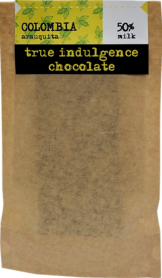 Colombia Arauquita 50% Dark Milk (Bean to Bar) Craft Chocolate Bar