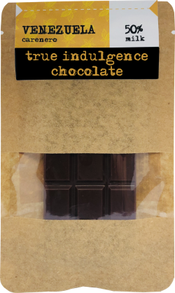 Venezuela Carenero 50% Dark Milk (Bean to Bar) Craft Chocolate Bar