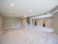 9' Ceilings in Basement