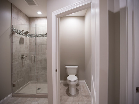 Master Bathroom- Custom Tile Shower
