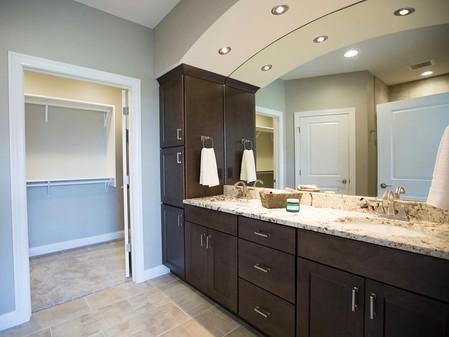 Master Bathroom - Granite Countertops