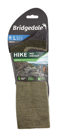 Hike Midweight Merino Performance Boot £18