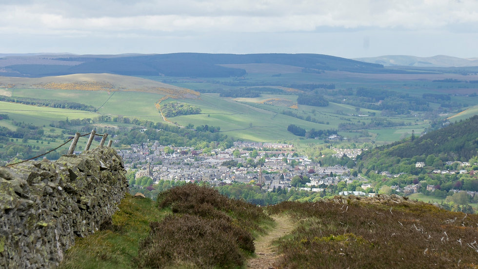 Peebles from the Hills