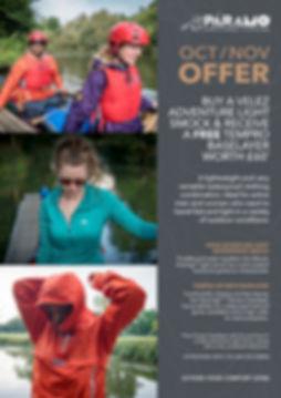 Velez Adventure Light Oct/Nov Offer