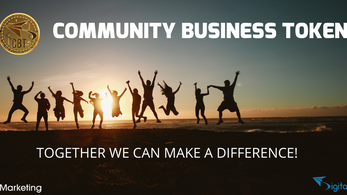 Community Business Token (CBT): DigitalFlyer® Sets up a Digital Currency and Organises the first Cry