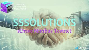 Simple Software Solution Debuts its Nimbus sDrive Testnet