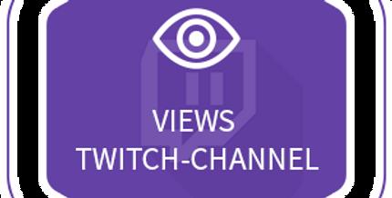 Twitch Channel Views