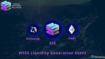 SSSolutions: Token Liquidity Generation Event — WSSS — sBridge