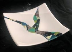 Glossy White Platter