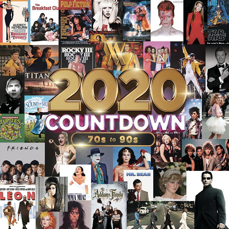 70s-90s PARTY COUNTDOWN to 2020