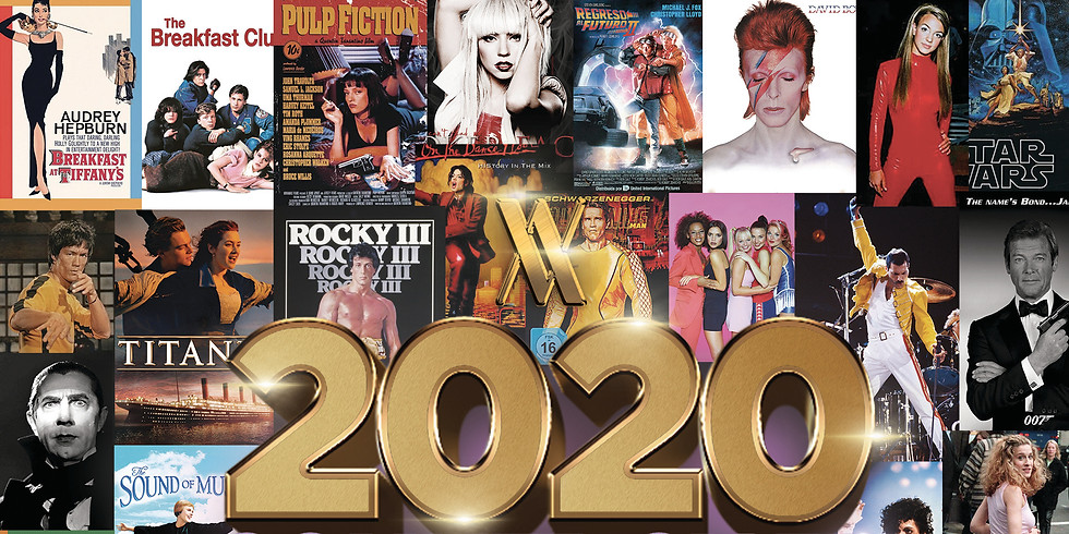 70s-90s PARTY COUNTDOWN to 2020 (For Pernod Ricard Only)
