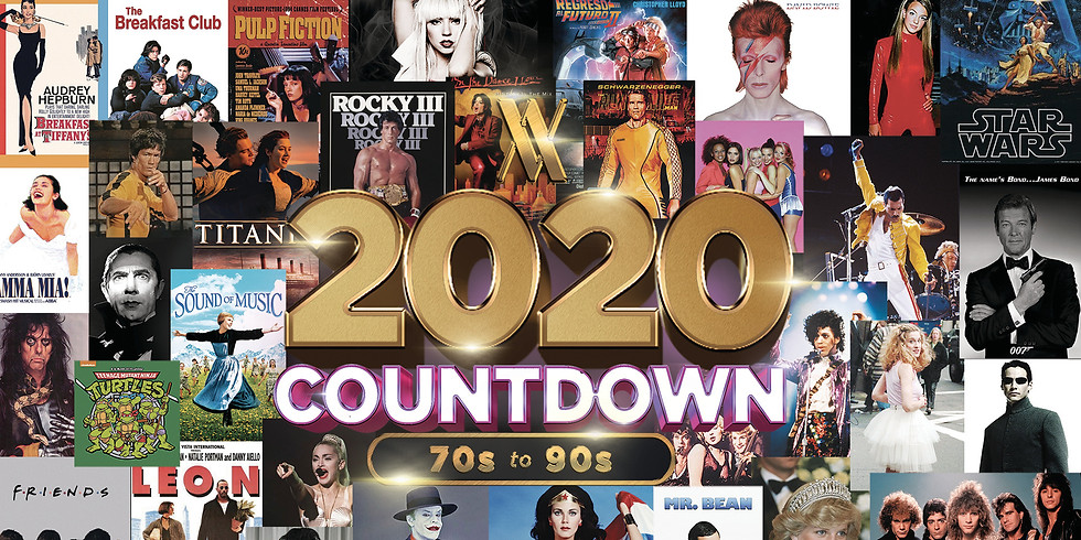 70s-90s / 2020 Countdown Party