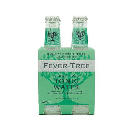 Fever-Tree Elderflower Tonic Water - Pack of 4