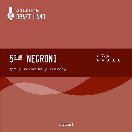 5*star Negroni