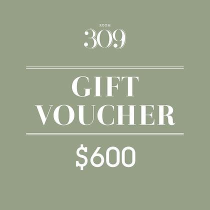 HK$600 Cash Voucher