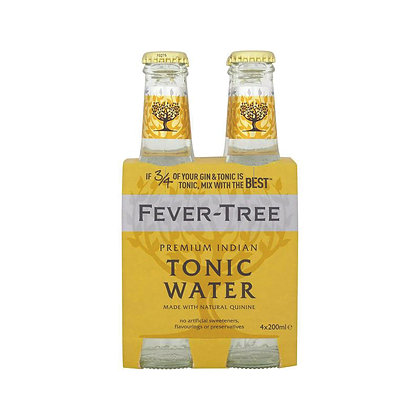 Fever-Tree Indian Tonic Water - Pack of 4