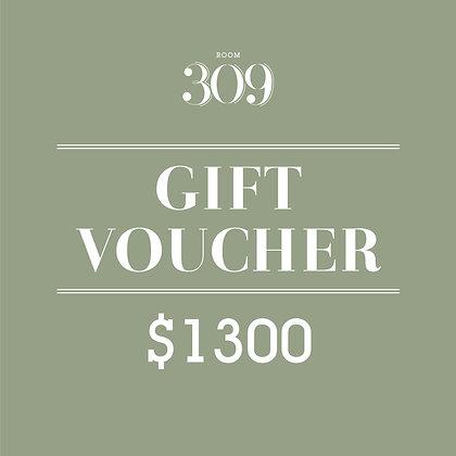 HK$1300 Cash Voucher