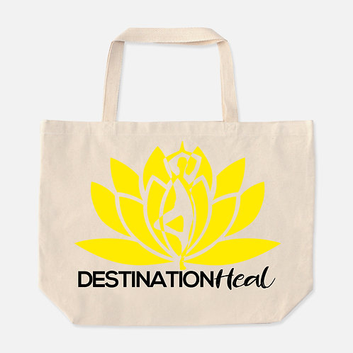 Destination Heal Oversized Tote (Natural)