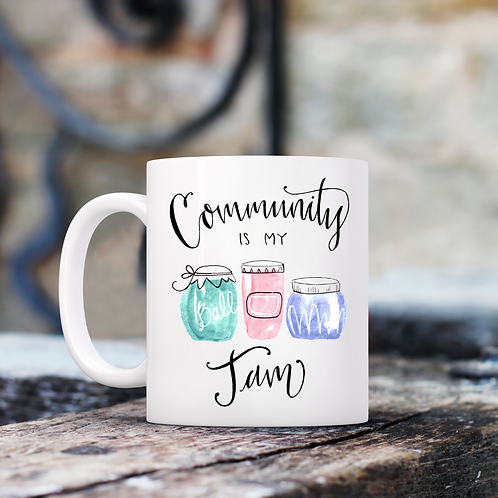 Community is my Jam Mug