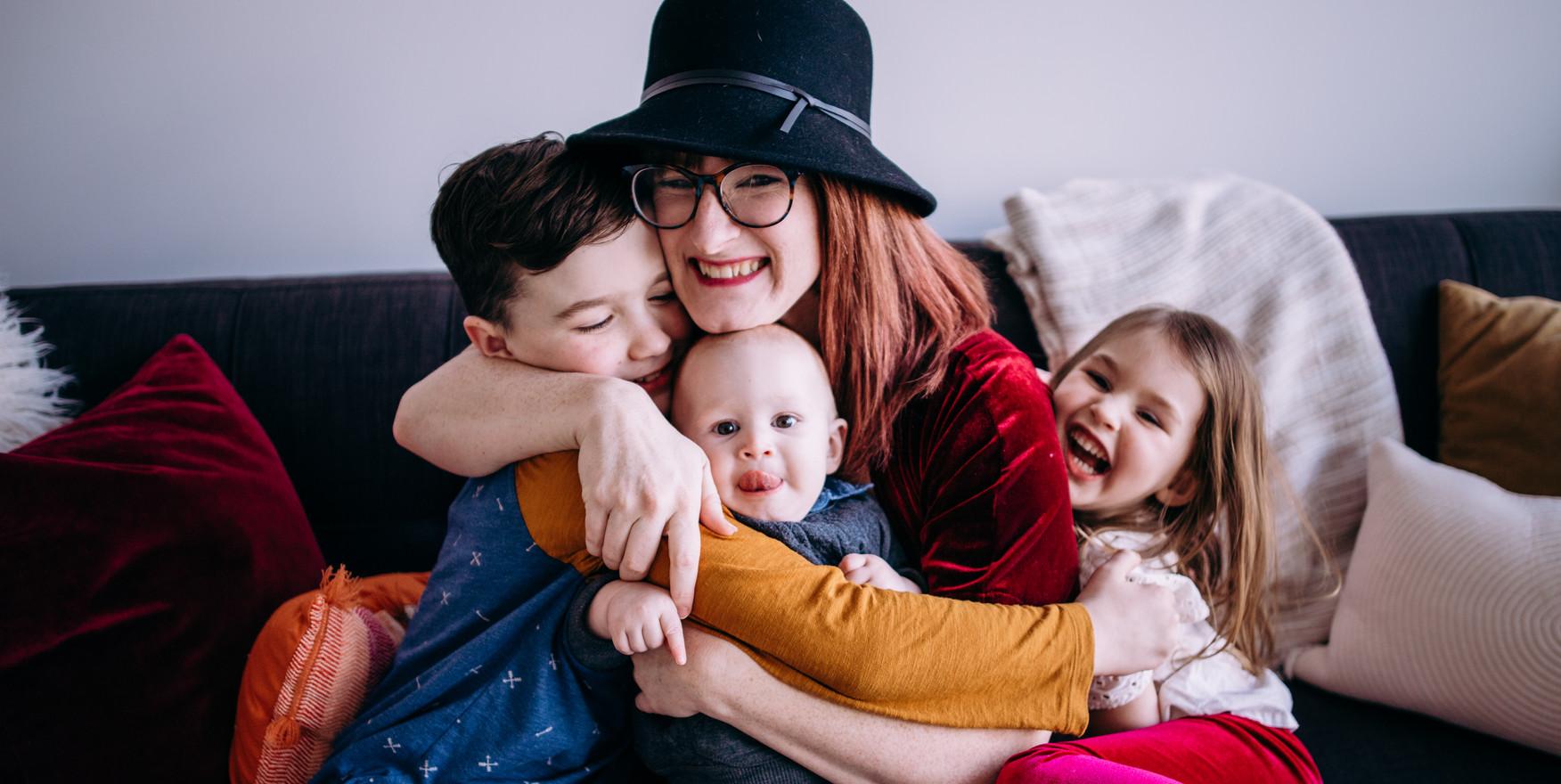 my three amazing children,